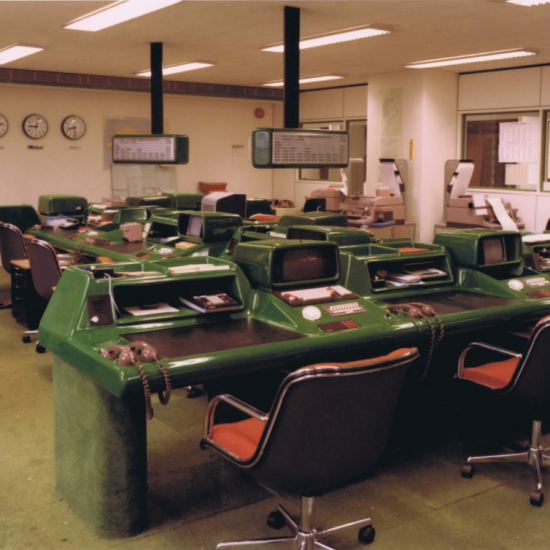 SBFI Trading desks - heritage photo